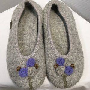 Haflinger Boiled Wool Ballet Slippers